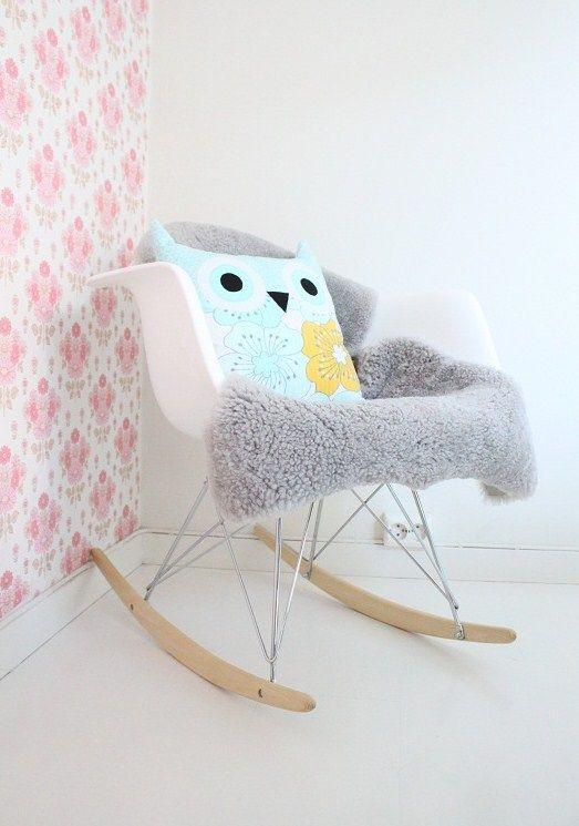 Un fauteuil eames pour pouponner