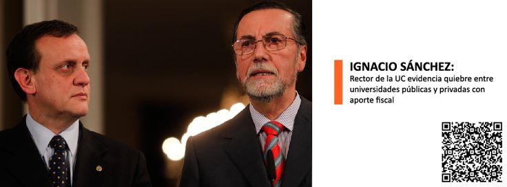 """""""Me parece que todo proceso tiene un límite y nosotros hemos llegado al límite de manifestar esto con mucha fuerza y también hemos expresado al interior que vamos a manifestarlos públicamente para que la comunidad nacional conozca nuestra molestia, nuestra profunda desazón, y nuestra falta de confianza"""", dijo Ignacio Sánchez, en su calidad de representante de los planteles del G9. #elmostrador"""