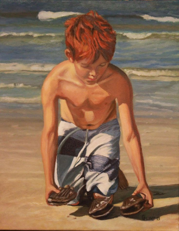 Oil Painting on Canvas artist Gail Flint