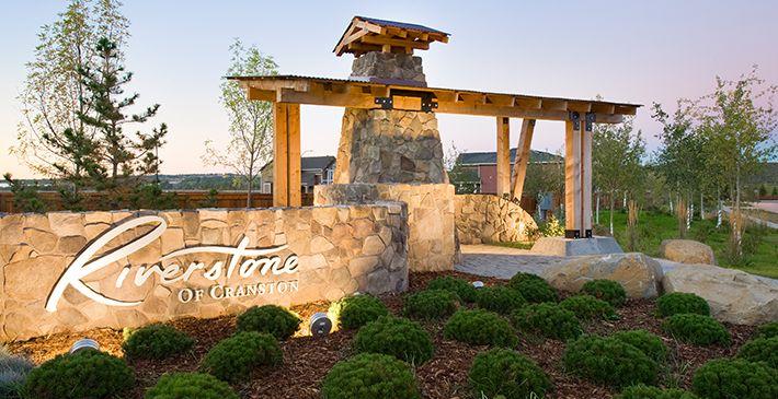 community entrance feature