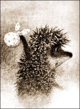Hedgehog in the fog -- by Francesca Yarbusova