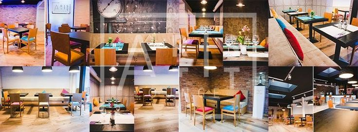 Modern space for a chat, a glass of wine and some italian cuisine