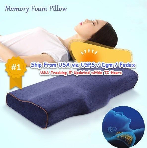 Slow ReboundButterfly Memory Foam Pillow Headrest Neck Cushion. Filling: memory foam. Good quality,butterfly shape design, helping sleep and anti-snore. 1Xbutterfly shape pillow. Color: dark blue, dark coffee, light grey, beige, light tan, purple. | eBay!