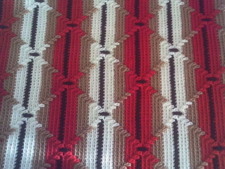 indian blanket afghan pattern | Timeless Creations: Navajo Afghan
