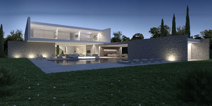 Residence on Golf course near Madrid, Spain by Gallardo Llopis Arquitectos