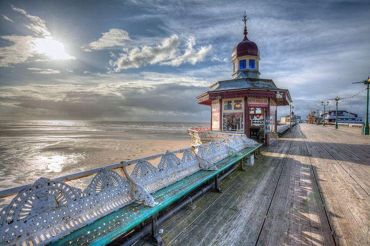 North Pier Blackpool..