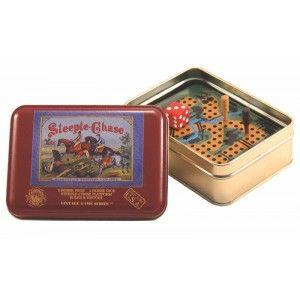 Steeple Chase Vintage Game Tin
