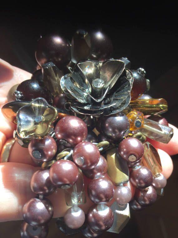 Handmade Bronze Purple Passion  Vintage by DawningsCustomDesign