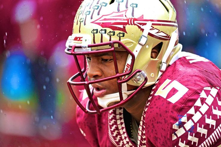 Florida State quarterback Jamies Winston was  involved in a bizarre play  during Saturday's 20-17 win over the Boston College Eagles when he came in contact with an official in the midst of running the hurry-up offense...
