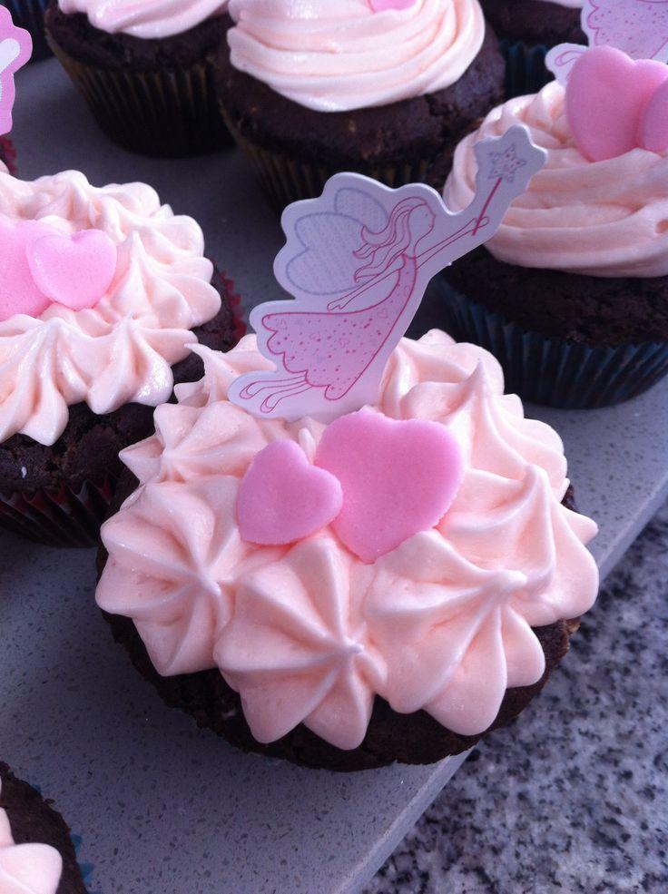 Cupcake de Chocolate con Frosting de Vainilla