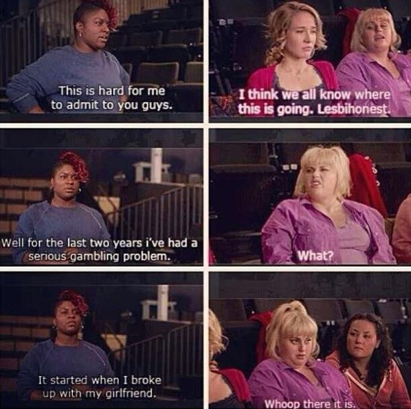Hilarious Quotes From Pitch Perfect 287 best images...