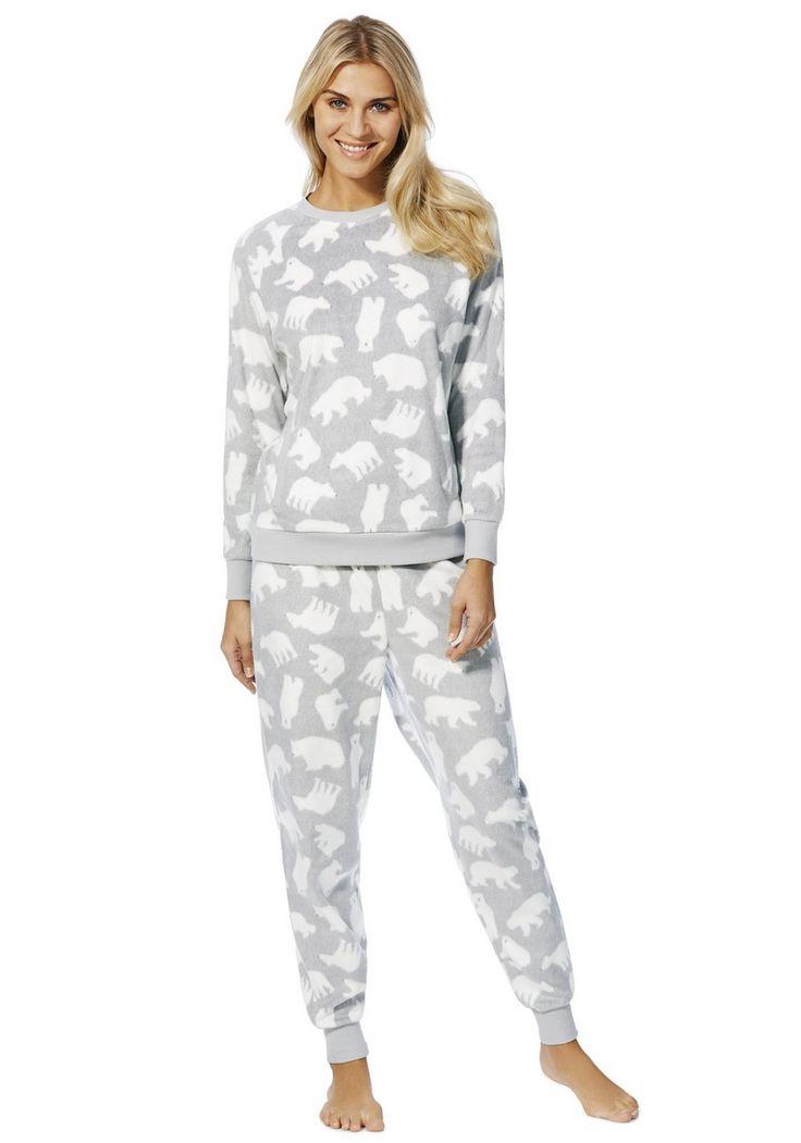 Clothing At Tesco F Amp F Polar Bear Fleece Twosie