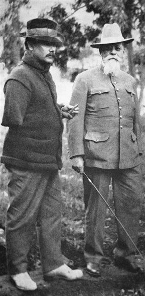 Alvaro Obregon with Venustiano Carranza, 1916