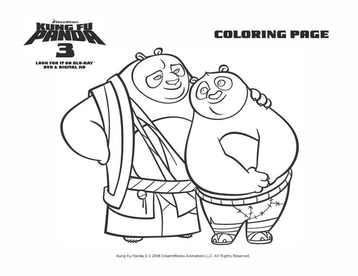combo panda coloring pages printable | 132 best Kung Fu Panda images on Pinterest | Panda party ...