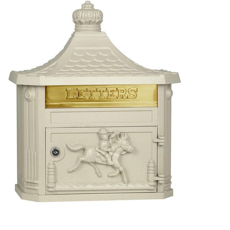 4400 Series Beige Victorian Mailbox