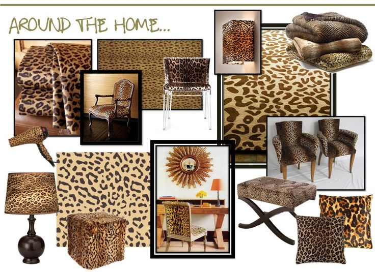 Need Leopard Print In My Living Room Or Bedroom Living Rooms Family Rooms Pinterest To