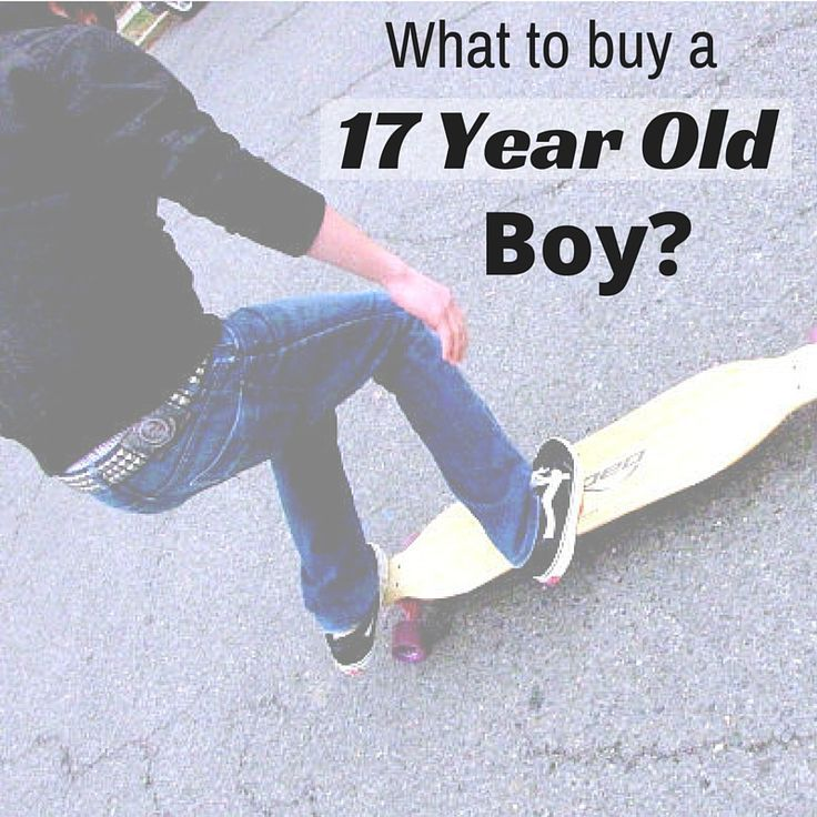 What are the best gifts for 17 year old boys?!  Here are some of the best #giftideasforteens