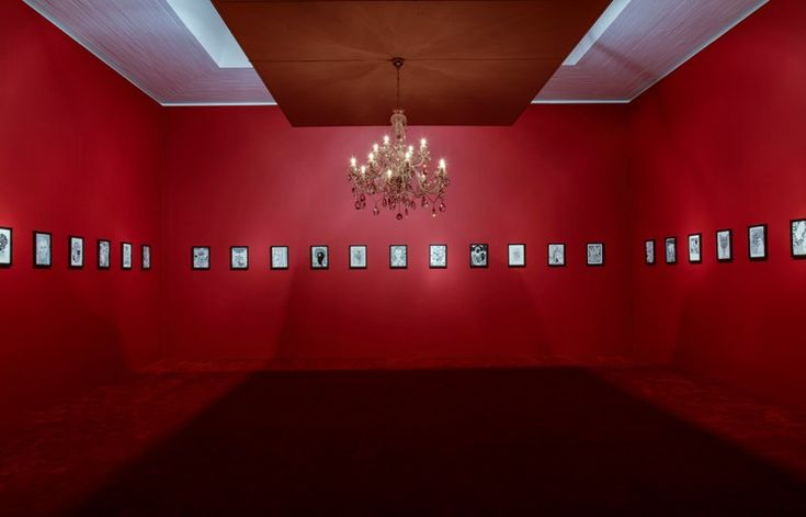Just Like Home -  2013-14, Installation view 5, red room, Kunsten Museum of Modern Art, DK
