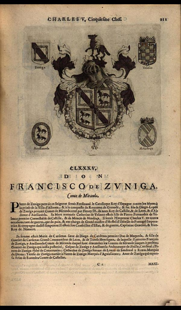 189. 1531, 20th chapter of the Order, Tournai; Francisco de Zuñiga, 3rd Count of Miranda (d.1536).