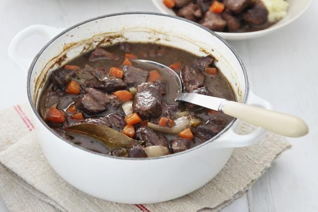 A wonderful, warm hearty casserole based on a recipe for venison pie from the celebrity chef Valentine Warner.