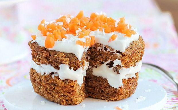 Five-Minute Carrot Cake for One