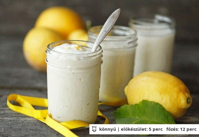 Joghurtos citromhab