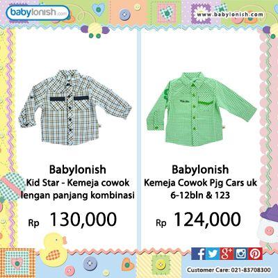 Dapatkan baju lucu & Trendy untuk anak Anda di babylonish.  Gratis ongkir seluruh Indonesia. Bersertifikat SNI.