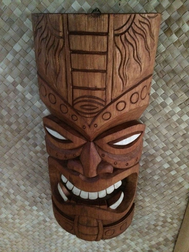 227 Best Tiki Images On Pinterest Carving Sculptures