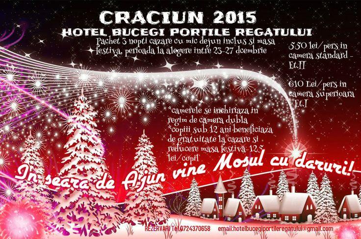 Oferta Craciun 2015 Hotel Bucegi Portile Regatuli Predeal Paraul Rece