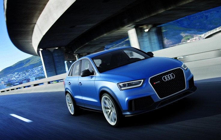 The 360 HP Audi RS Q3 Concept