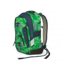 Satch Sleek Schulrucksack Green Camou SAT-SLE-001-9D8