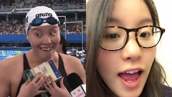 Olimpiade Rio 2016 - Kira-kira Cocok Nggak Fu Yuanhui Sama Si Roti Sobek, Ning…