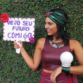 Dupla Carioca: DIY fantasia vidente
