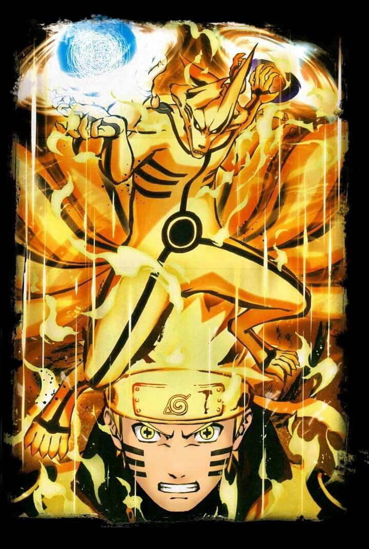 Naruto Uzumaki and Kurama