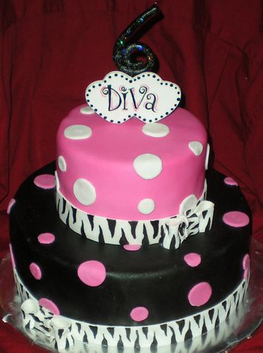 Diva Birthday Cake | Flickr - Photo Sharing! www.CakeFreak.com. Waco, TX