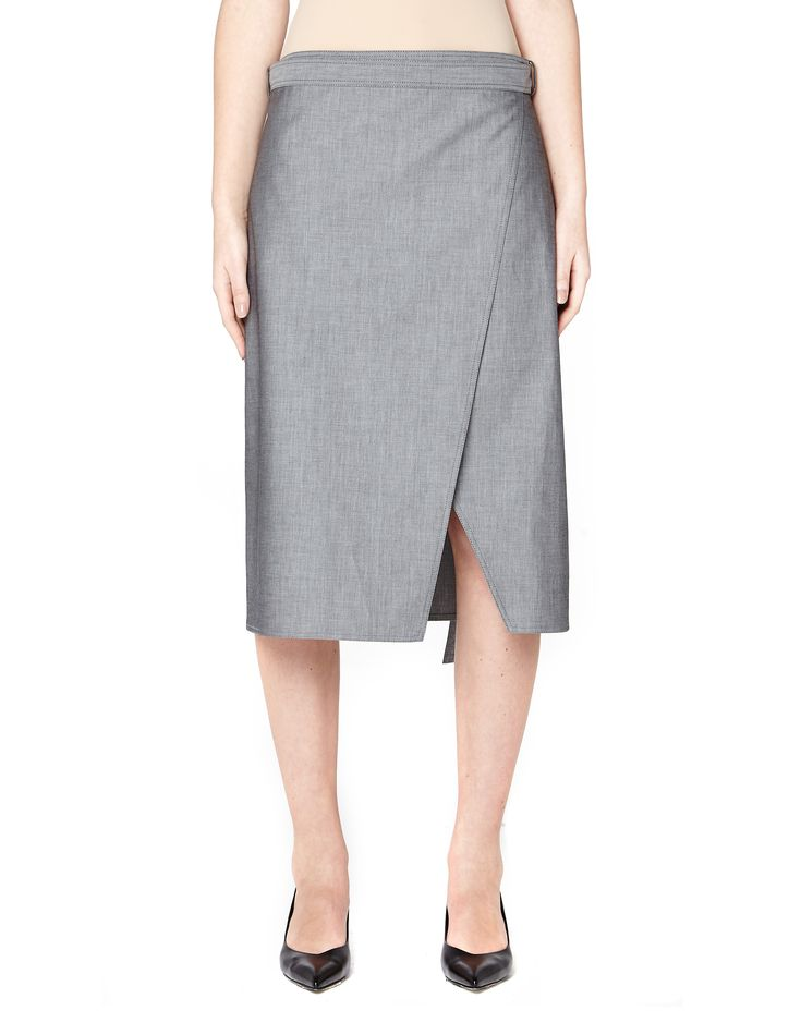 Cotton wrap skirt by Balenciaga — SVMoscow