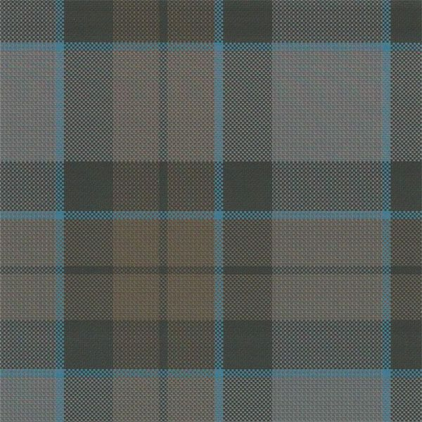"""MacKenzie Tartan Authentic Premium Wool OUTLANDER Fraser, $119/yd, The same 100% premium wool tartan fabric, woven by the same weaver in Scotland, as used in the making of OUT-LANDER! Hopsack plain weave with a wash to give it Weight of wool 12oz, 60"""" wide.weathered, earth-tones common to the era. Looser, rustic weave, as from18th century looms."""