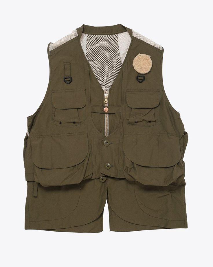 Utility fishing vest snow peak fishing pinterest for Best fishing vest