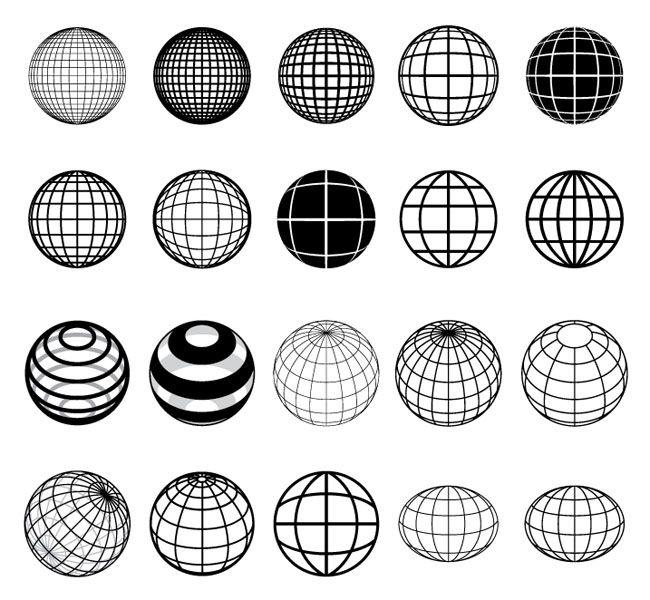 20 Vector Globes - Free Vector Site | Download Free Vector Art, Graphics