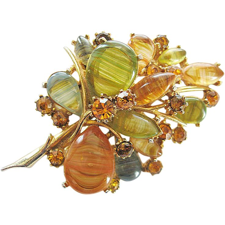 ART Autumn Colorful Brooch