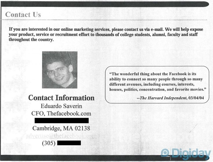 How Eduardo Saverin Sold Facebook Ads in 2004 ow.ly/d8oXY [includes the original media kit he used to pitch potential advertisers]
