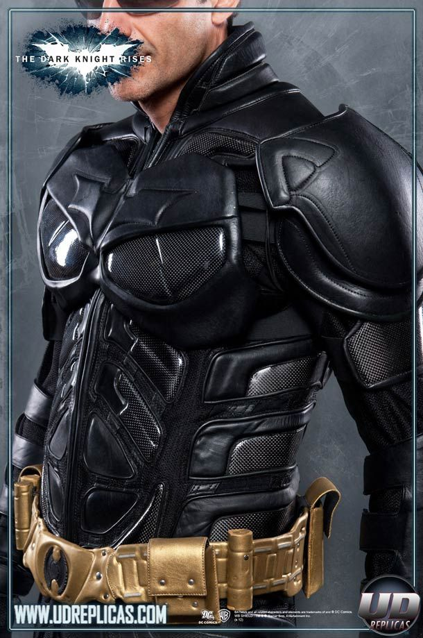Dark Knight Rises Motorcycle Armor – The ultimate motorcycle suit for Batman fans | Ufunk.net
