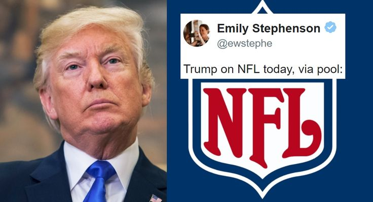 Trump Was Just Asked If He Watched The NFL Games Today. His Answer Is Telling