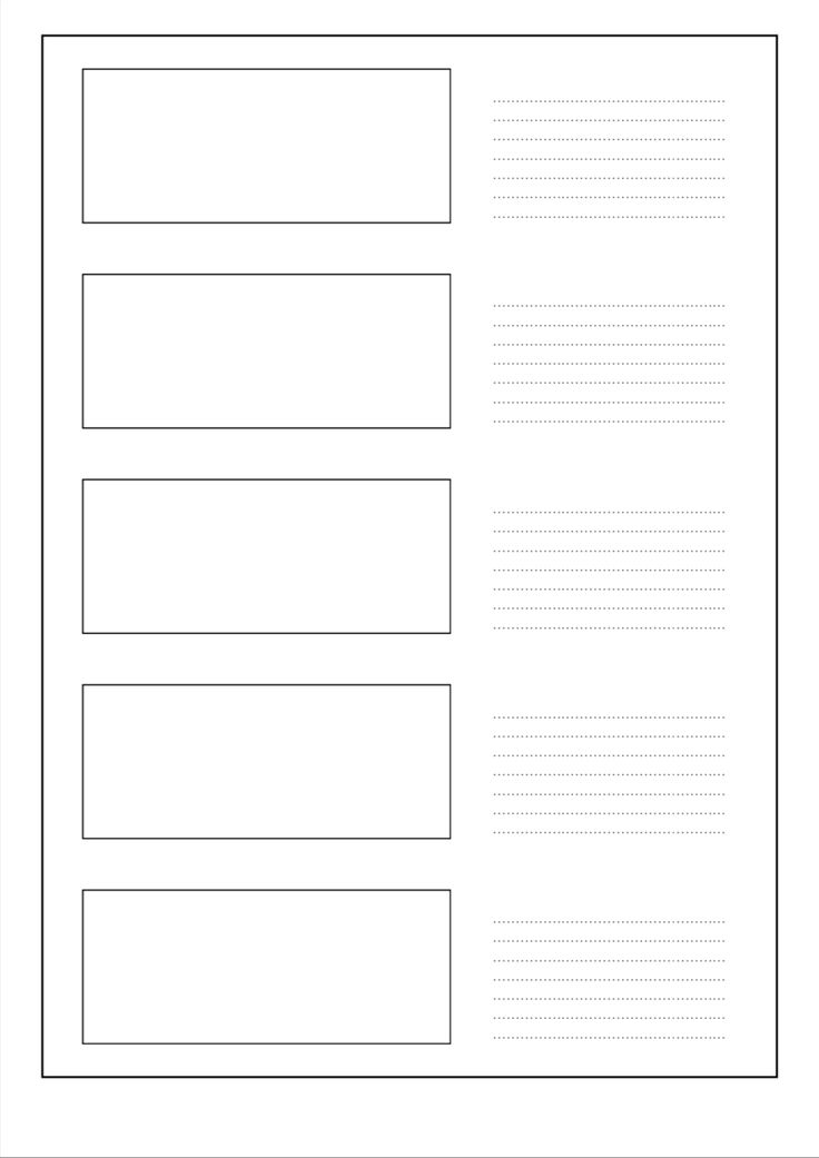 free pdf storyboard template for 2 39 1 with five frames per page on din a4 portrait
