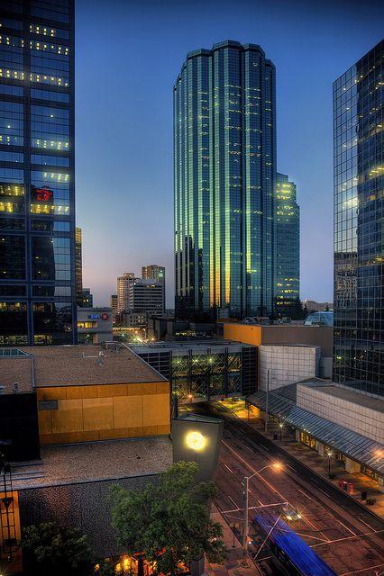 Edmonton, Alberta, Canada - the MetLife Building