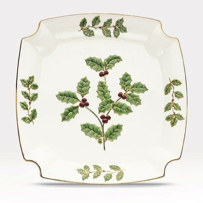 Noritake Holly and Berry Gold 12-Inch Square Plate by Noritake CO., INC.. $20.00. Dishwasher Safe. World Famous Noritake Quality, Value and Design. White Porcelain. 12-Inch Square Plate. Since 1904, Noritake has been bringing beauty and quality to dinner tables around the world. Superior artistry and craftsmanship, attention to detail and uncompromising commitment to quality have made Noritake an international trademark during this past century. Noritake Dinner...
