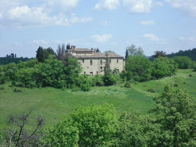 Hermitage in the countryside (Umbria, Italy)