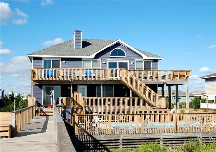Twiddy Outer Banks Vacation Home Sea It All Corolla Oceanfront 6 Bedrooms Available The