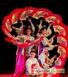 Chinese Fan Dance