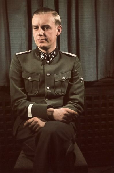 SS-Obersturmführer Hans Hermann Junge, Traudl Junge Husband